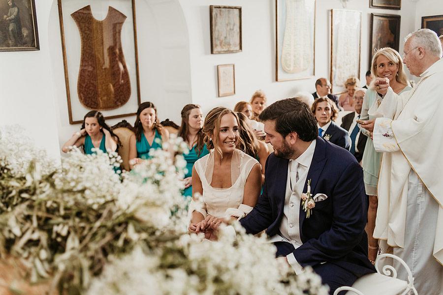 Decoración floral en boda en el Convent de Blanes por La Florería 09 | La Florería