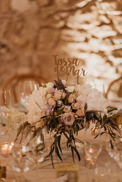Decoración floral en boda en el Convent de Blanes por La Florería 04 | La Florería