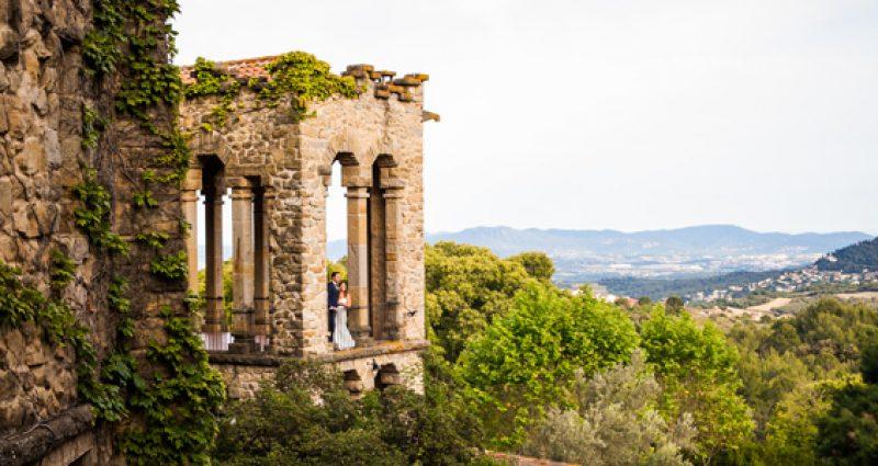 Una boda muy romántica en La Baronia