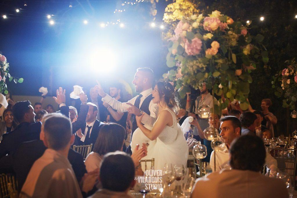 Diversión en la boda de Mireia y Darder | La Florería Barcelona