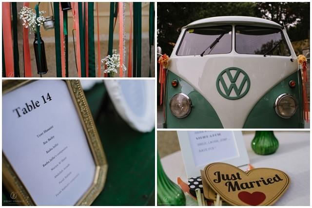 Furgoneta para fotos en la boda | La Florería
