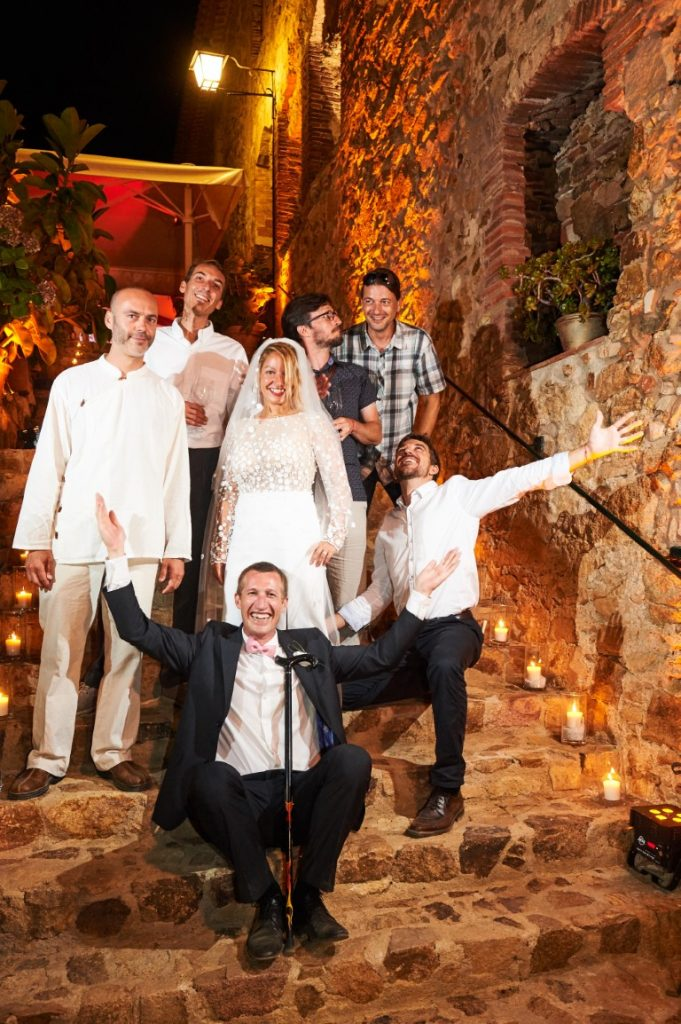 Boda divertida en el mediterráneo | La Florería Barcelona