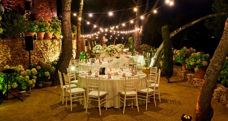 Boda en la Costa Brava, encanto, magia y romanticismo