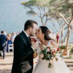 Rosas Rojas para boda en Convento de Blanes - La Floreria - Barcelona