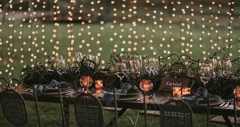 Una boda romántica para el recuerdo